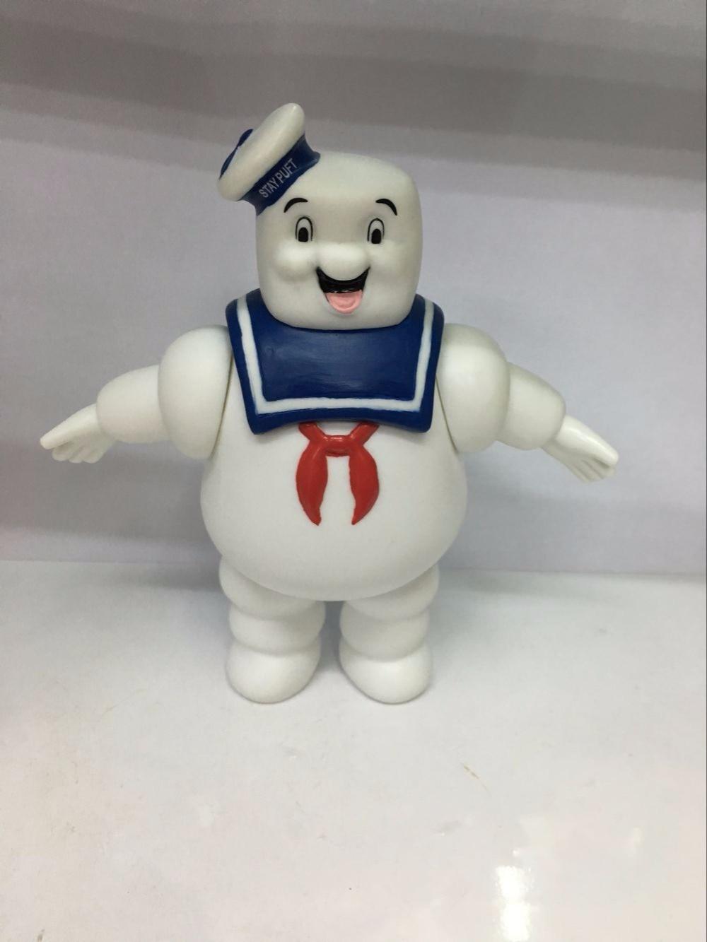 2 pcs set Vintage Ghostbusters 3 Tetap Puft Marshmallow Man Slimer Sailor  Action Figure Mainan Boneka Dekorasi Rumah di Aksi   Toy Angka dari Mainan    Hobi ... 36173cb980