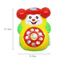 Music Cartoon Phone for Baby, Toddlers & Kids – Educational Toy
