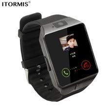 Купить с кэшбэком ITORMIS Bluetooth Watch Smart Watch Smartwatch Phone Watch SIM card with Touch Screen Camera Pedometer WhatsApp Facebook Android