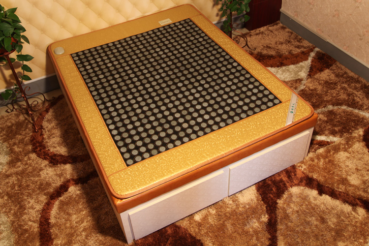 2016 NEW Heating mattress natural jade heated bed mat jade stone massage mattress heating cushion 3 Size for You Choice new heating jade stone infrared massage sofa cushion with temperature display bed sofa mattress health care germanium stone mat