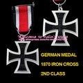 XDM0001 Франко-Прусской Войны 1870 Железный Крест 2-го Класса Eisernes Kreuz 2. Класс Пруссия Военная Медаль Германия 1870 EK2