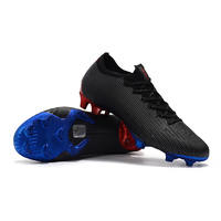 Low Ankle Football Shoes Mens CR7 Cleats FG Superfly VI 360 Elite Soccer Boots Zapatos De Futbol Hombre Chuteira Futebol 2019