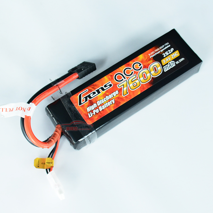 Free shipping high quality ACE 7600mah 7.4V 25C 2S lithium battery TRAXXAS E S safe special battery for Big foot Electric boat
