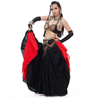 Decorations for belly dancing accessories bellydance belt and bra set gold silver belly dance top