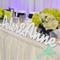 Деревянные пвх буквами-бесплатная автономных свадебные начальная знаки-для настольные знаки-для инициалы 2 букв и амперсанд