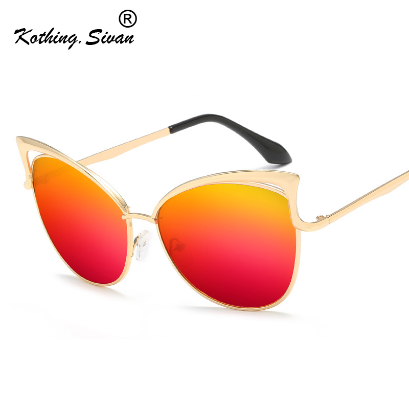 New Cute Sexy Retro Cat Eye Sunglasses Women Small Black White 2019 Vintage Cheap Tinted Color Lens Sun Glasses Red Female UV400 image