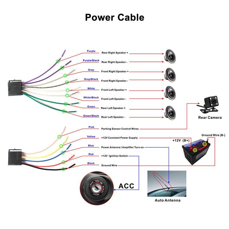 CAR Ai FM/MP5/USB/AUX/Supporto stock 8