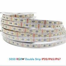 DC12V 5050 SMD Led Strip Light RGBW RGBWW 4 Colors in 1 Chip Waterproof Flexible RGB