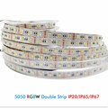 DC12V 5050 SMD Led Strip RGBW RGBWW 4 Colors in 1 Chip Led Flexible Light RGB + White / Warm White  indoor decoration