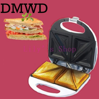 Multifunction Electric Sandwich maker household MINI baking pan fried Grill waffle machine Pancakes Maker Baker 220V EU US plug dmwd electric waffle maker muffin cake dorayaki breakfast baking machine household fried eggs sandwich toaster crepe grill eu us