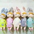 Ins Уникальные Подарки высокого качества Сладкий Мило Ангела кролик кукла Metoo детские плюшевые куклы для детей panda бабочка би poupee куклы