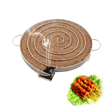 Stainless Steel BBQ Grill Smoke Generator Barbecue Accessories For Wood Chips(China)