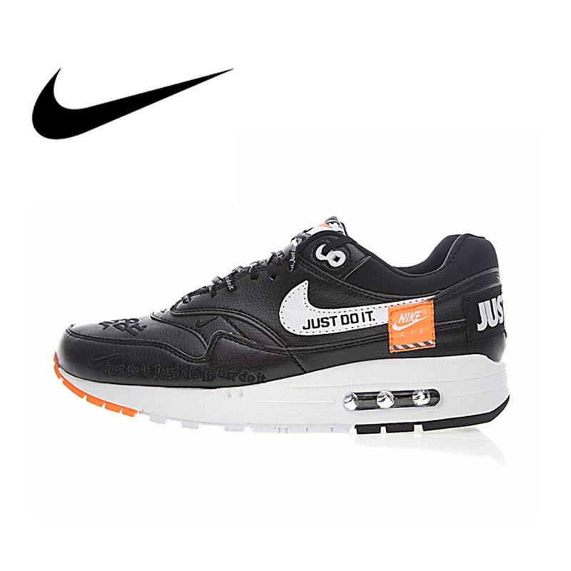new style 674f2 49200 Original Authentic Nike Air Max 1 Just Do It Men s Running Shoes Outdoor  Sneakers Designer Footwear