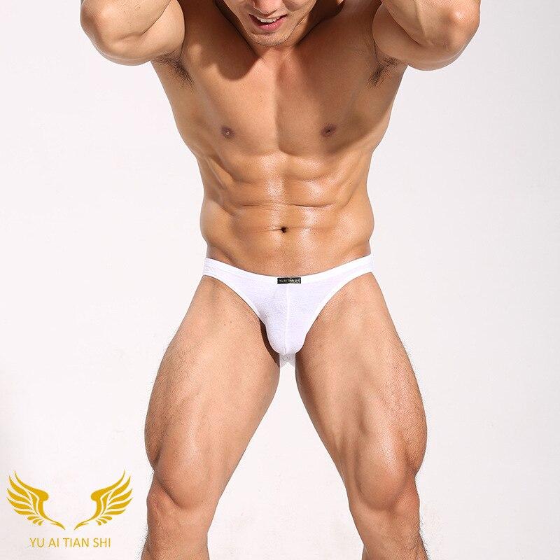 Mens Bikini Gay Underwear Sexy Mens String Bikini Briefs Slip Cotton Mens Panties
