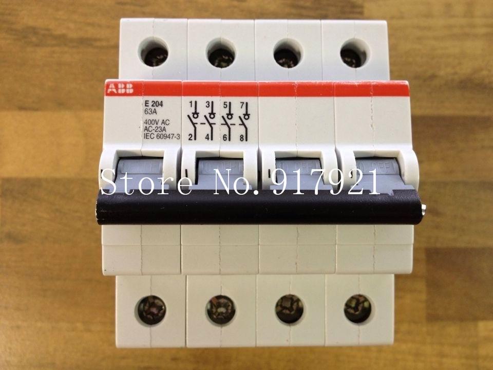 [ZOB] The original original E204 63A 4P63A isolation switch to ensure genuine --2PCS/LOT