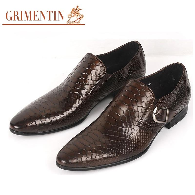 grimentin italian fashion designer casual mens dress shoes