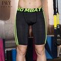 Человек спорт базовый слой шорты тренировки колготки компрессионные шорты тренажерный зал мма бодибилдинг баскетбол бег шорты мужчины боксеры