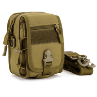 Camouflage Tactical Outdoor Shoulder Bag Men Women   Running   Waist Sports Bag Leisure Mini Riding Bicycle   Running   Bags Accessories