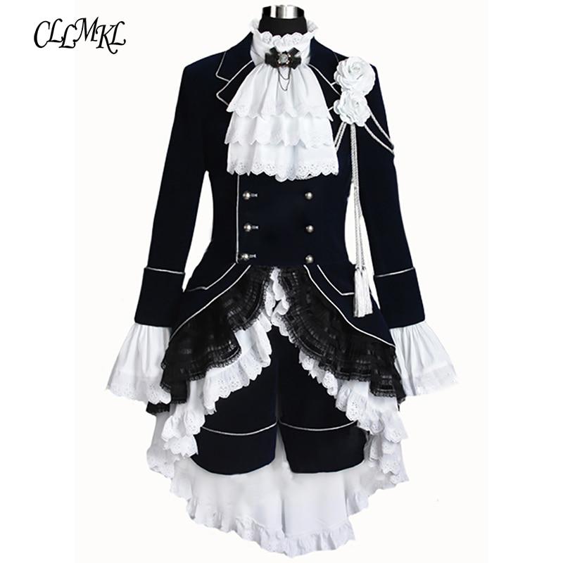 Black Butler Cosplay Ciel Phantomhive Black Cosplay Costume