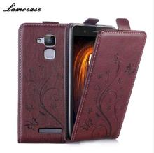 For Asus Zenfone 3 Max Phone Flip PU Leather Case Luxury Retro Vertical Magnetic Cover For Asus Zenfone 3 Max ZC520TL Cases JRYH