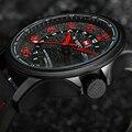 NAVIFORCE Marca de Moda Casual Relógios dos homens Homens Relógio Data Homem do Relógio de Quartzo de Couro À Prova D' Água 3ATM Militar Do Exército relógio de Pulso