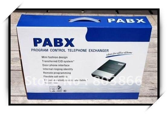 2CO линии в x 8 расширения вне-офисная АТС/PABX система-PABX Заводская поставка для продвижения