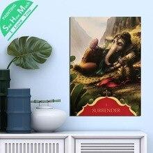 Лучший!  1 Шт. Календарь Ганеша Сдать HD Печатных Холст Wall Art Плакаты и Принты Плакат Живопись