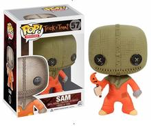 Funko Pop Anime TRICK 'R TREAT SAM 10cm Vinyl Doll Action Figure Collection Movie Model Toys Christmas Gifts 10cm the predator pop action figure doll for kids gifts