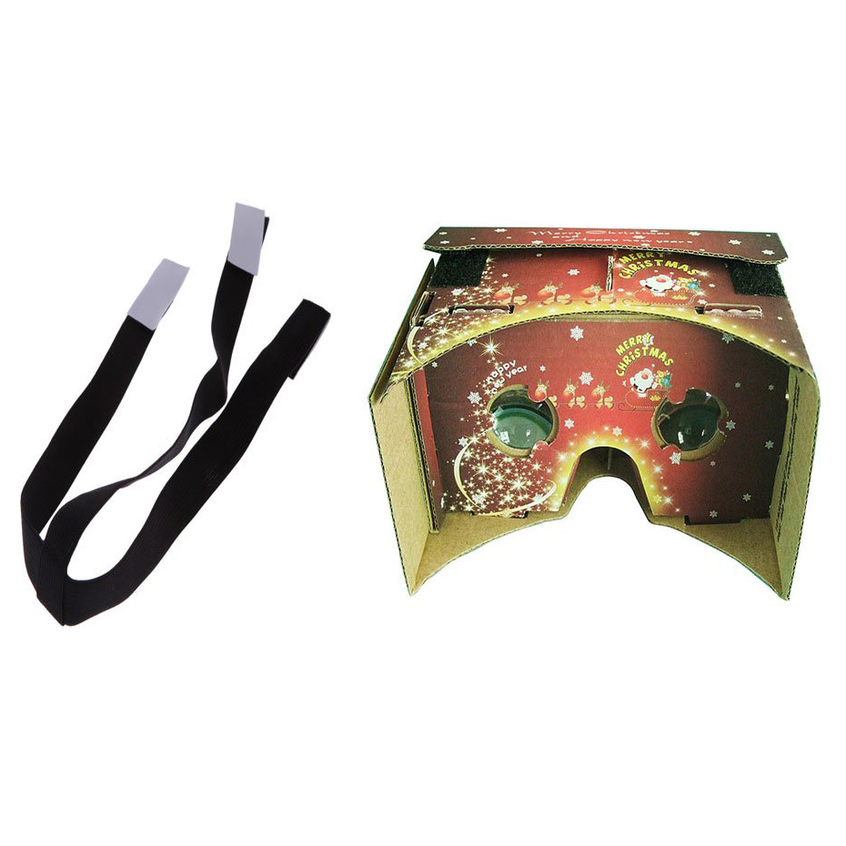 Vr google 3d gafas de realidad virtual + un cinturón para elástica ajustable ext