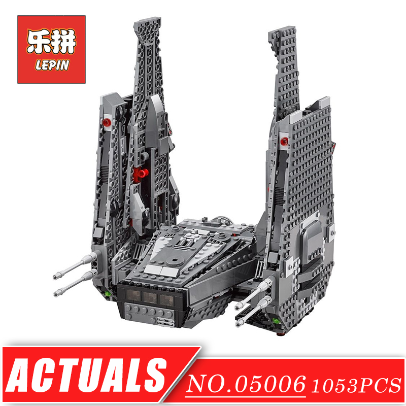 LEPIN 05006 Stars Series War the Command Shuttle Space Ship DIY Set Model Building Kits Blocks Brick Children Toy Christmas Gift lepin 16014 1230pcs space shuttle expedition model building kits set blocks bricks compatible with lego gift kid children toy