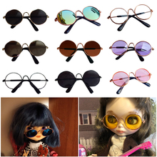 Doll Cool Glasses Pet Sunglasses For BJD Blyth American Grils Toy Photo PropsRamadan Festival GiftRamadan Gift