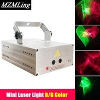 Mini Laser Light R G Color Stage Light DJ Bar Party Led Effect Light Stage Machine