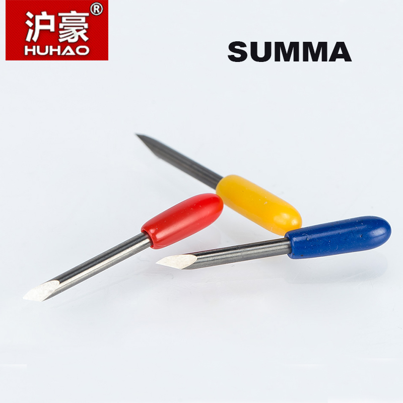 HUHAO 5PC/lot SUMMA Plotter Cutter 30/45/60 Degree Tungsten blades Cutting Plotter Vinyl Cutter Knife for SUMMA Plotter Blade 1 roll white cutting plotter blade strips protection guard vinyl cutter tape 100cmx8mm