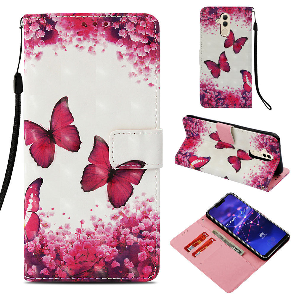 Funda Huawei Mate 20 Lite Case PU Leather Wallet Cover Book Style Phone Cases For Huawei Mate 20 Lite Case Flip Cover