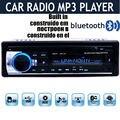 2016 12 V Car Stereo FM Radio MP3 Reproductor de Audio construido en el Bluetooth teléfono con Puerto USB SD MMC Del Coche de radio bluetooth En El Tablero 1 DIN