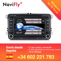 German warehouse! 7inch 2din Car GPS DVD player for Skoda Octavia/Fabia/Rapid/Yeti/Superb/Seat navi multimedia radio BT RDS
