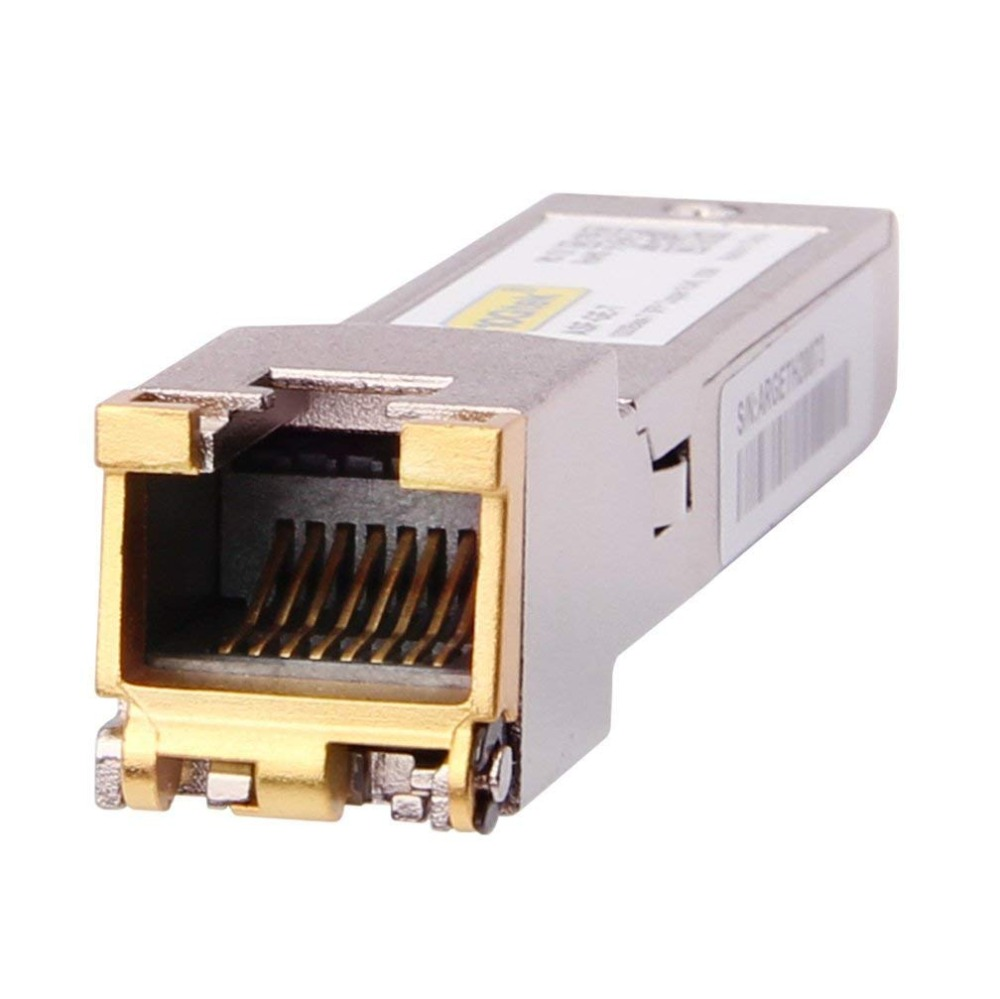 4 Adet 1.25 Gb 100 M SFP RJ45 GLC-T / SFP-GE-T 1000Base-T Gigabit - İletişim Ekipmanları - Fotoğraf 4