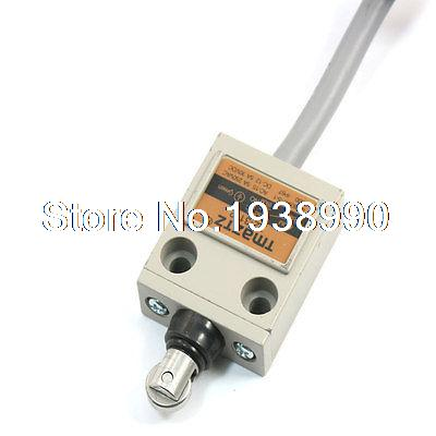TZ-3112 Momentary NO NC SPDT Waterproof IP67 Sealed Roller Plunger Limit Switch limit switches plug in side plunger std 1nc 1no spdt