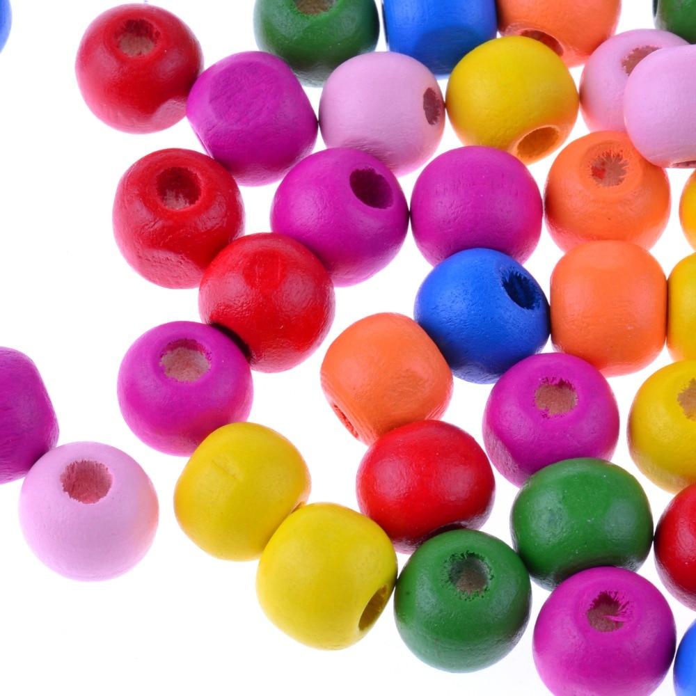 Diy Aksesoris Buatan Tangan 10 Mm Manik Kayu Aksesori Di Beads Dari Perhiasan Aliexpresscom Alibaba Group