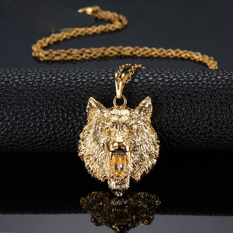Online Buy Wholesale wolf totem jewelry from China wolf totem