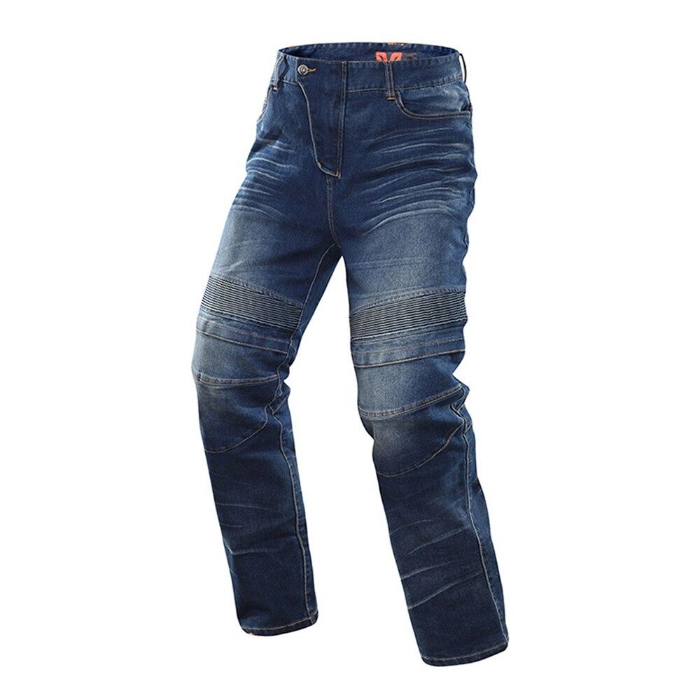 DUHAN Moto vestes respirant Moto costume Moto pantalon coupe-vent course Jeans équitation pantalon Automobile course pantalon hommes - 4