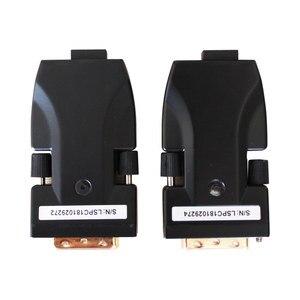 Image 3 - Amoonsky DTR2L DVI Ottica Ricetrasmettitore In Fibra di 2 Porte LC In Fibra Ottica Media Converter display a led per esterni Ricetrasmettitore In Fibra