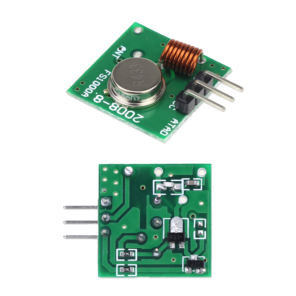 1pair RF 433Mhz Transmitter and Receiver Module Kit for Arduino Raspberry Pi