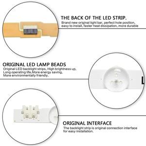 Image 5 - Светодиодная подсветка для телевизора SamSung 40 дюймов, UE40H6500, UE40H5500, UE40H6200, D4GE 400DCB R2 UE40H6400