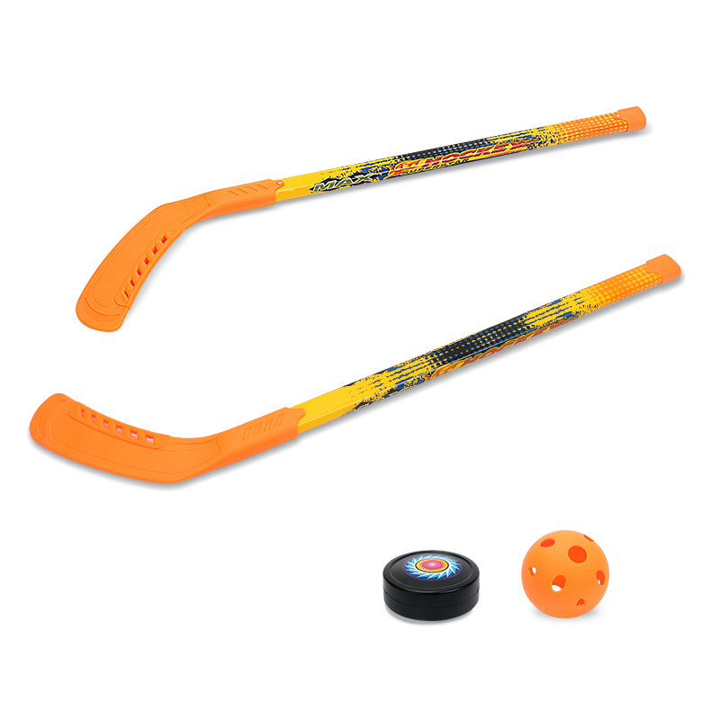 Enfants doux sécurité Hockey Set jouets pour enfants drôle sport jouer jeux en plein air jouet garçon Crashproof Hockey Parent-enfant jeux - 3