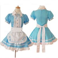 Sexy Sweet Gothic Lolita Dress French Maid Costume Anime Cosplay Sissy Maid Uniform Plus Costumes For Women S XL Christmas