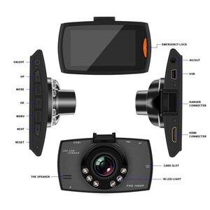 Image 3 - 6 IR LED 1080P Car DVR Camera Dash Cam Auto Driving Video Recorder 2.7 inch Night Vision Vehicle Dash Camera