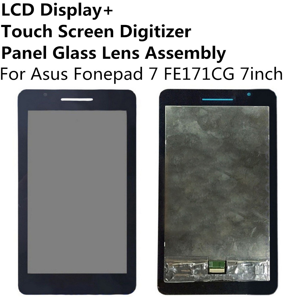 LCD Display + Touch Screen Digitizer Panel Glass Lens Assembly For Asus Fonepad 7 FE171CG 7inch Replacement Parts Repair Part