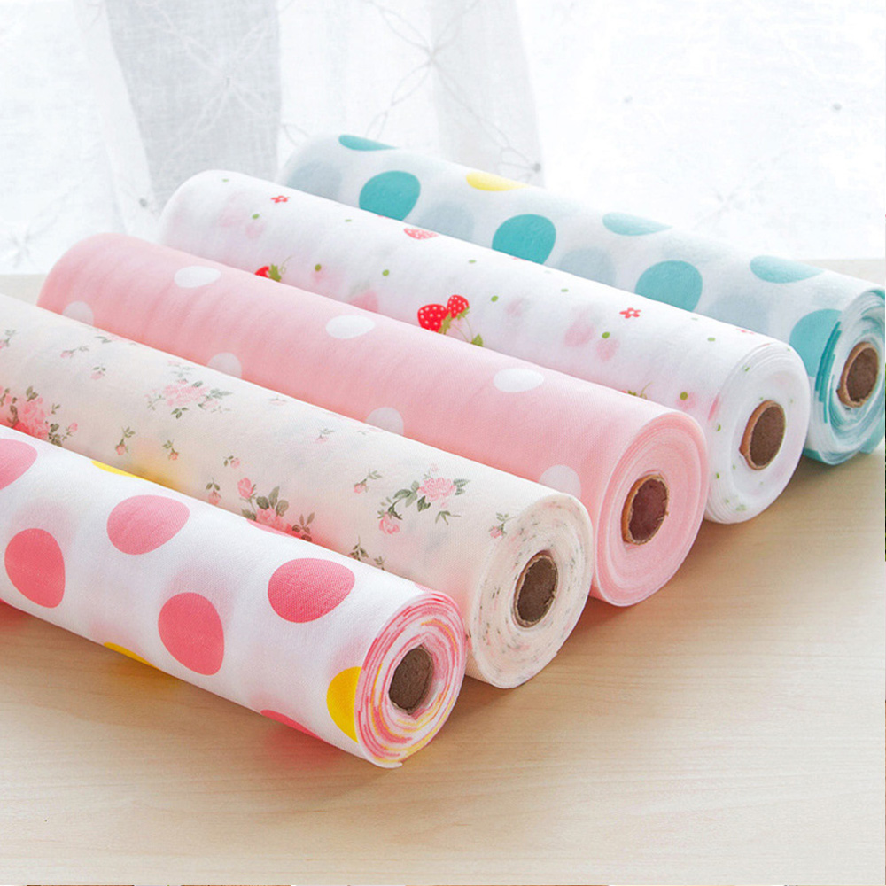 30 500cm Drawer Shelf Liner Kitchen Drawer Paper Polka Dot Floral Strawberry Waterproof Oilproof Diy Cabinet Dining Pads Mats Drawer Shelf Liner Aliexpress