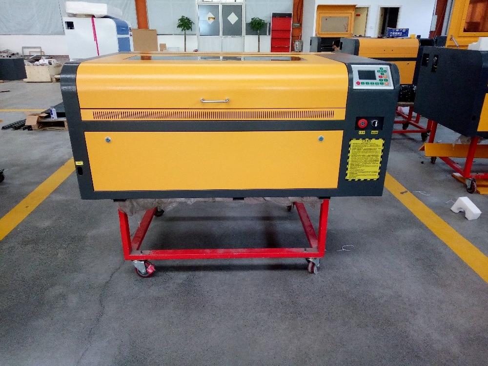 Gran potencia 80 W ruida láser controlador de 6090 industrial máquina de corte láser de 220 V/110 V máquina de grabado láser